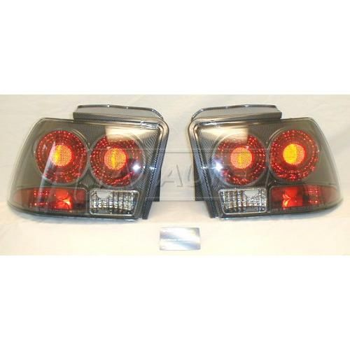 1999-03 Ford Mustang Euro Altezza Style TYC Elegante Performance Series CARBON FIBER Tail Lights