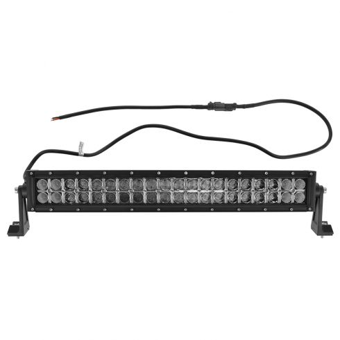 24 Inch - (120 Watt) Auxillary Flood & Spot Combination 40 LED Light Bar w/Riveted Trim