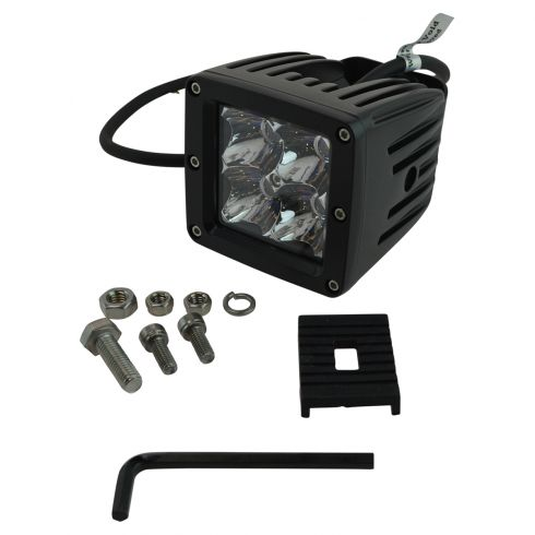 4 Inch - Square (12 Watt) Spot Beam 4 LED Offroad Work Light