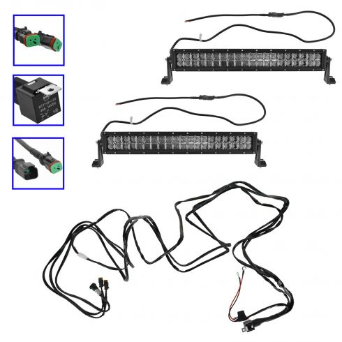 wiring harness for 50 inch light bar with 40 Inch Led Light Bar on Rigid Wiring Harness For Lights in addition B01LX4FAG7 additionally 40 Inch Led Light Bar further Rzr Wiring Diagram likewise Mictuning Wiring Harness Waterproof Switch 11430wmpgiru.
