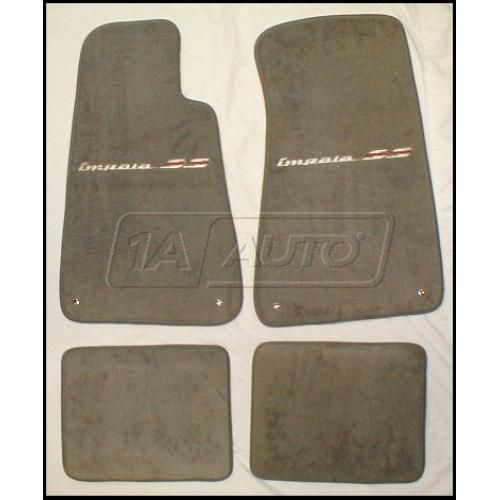 94-96 Chevy Impala Floor Mats with Logo