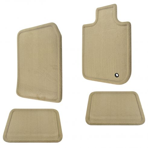 06-10 Ford Explorer, Mercury Mountaineer Camel Carpeted Floor Mat Kit (Set of 4) (Ford)