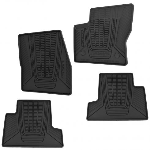 13-15 Escape Frnt & Rear Molded Black Rubber