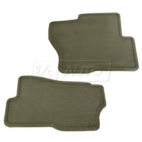 01-07 Silverado 1500; 01-02 2500, 3500; 01-06 Suburban, Tahoe Neutral Front Carpet Floormat Set (GM)