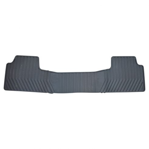 2015 GM Full Size SUV 2ND Row Black Molded Premium Rubber All Weather Floor Mat (GM)