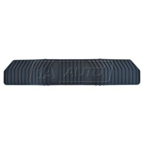 2015 GM Full Size SUV 3RD Row Black Molded Premium Rubber All Weather Floor Mat (GM)
