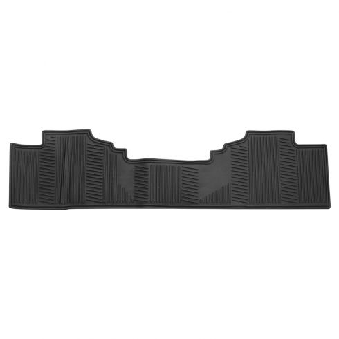 07-13 GM FS Pickup, SUV Premium Molded Black Rubber All Weather Rear One Piece Floor Mat (GM)