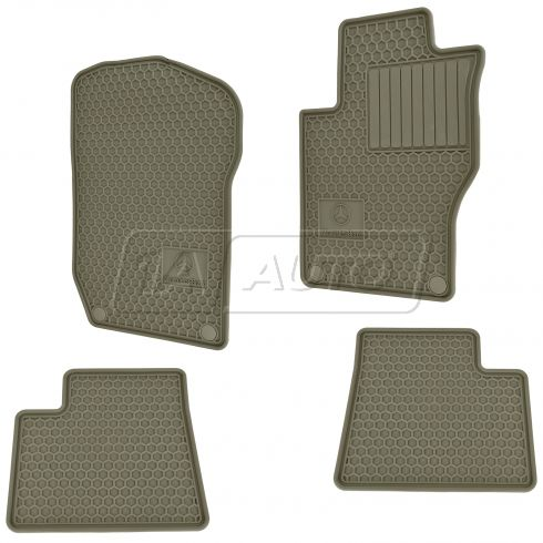 06-11 MB ML; 07-12 GL Class Molded Beige Rubber Logoed 'Mercedes Benz