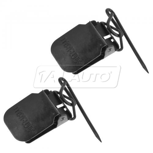 94-08 MB C, CL, CLK, E, G, M, S, SL, SLK Floor Mat Retention Fasting Clip PAIR (Mercedes Benz)