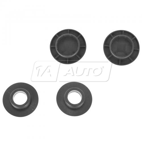 Mercedes Benz Multifit Floor Mat Black Retention Button Clip SET (Mercedes Benz)