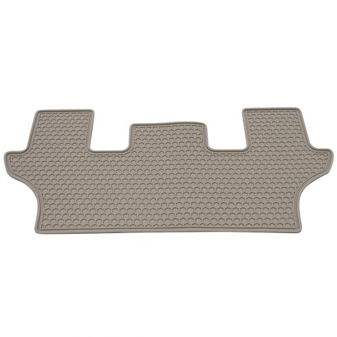 06-13 MB R-Class (V251 Ch) Molded Beige Rubber All Weather Third Row Floor Mat  (MB)