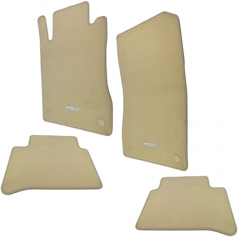 06-11 MB CLS-Class C219 Type Embroidered ~Mercedes Benz~ Cashmere Carpeted Floor Kit (Set of 4) (MB)