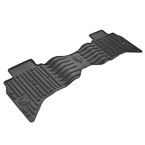 13-15 Ram 1500, 2500, 3500 Quad Cab Rear Molded Black Rubber Floor Mat (Mopar)