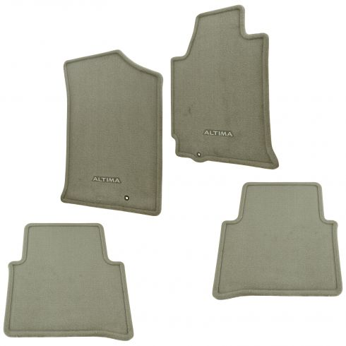 08-12 Altima Front & Rear Beige Carpeted