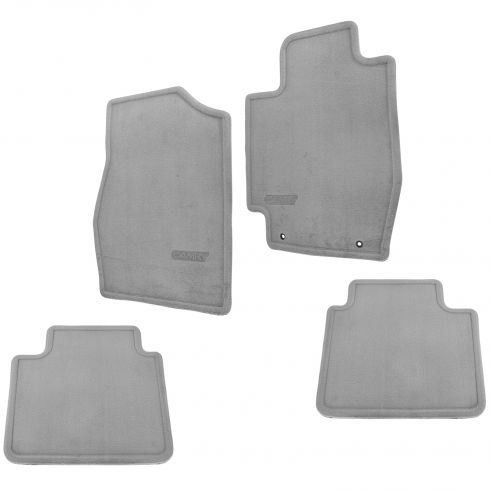02-06 Toyota Camry Front & Rear Stone Gray Carpet Floor Mats (Set of 4) (Toyota)