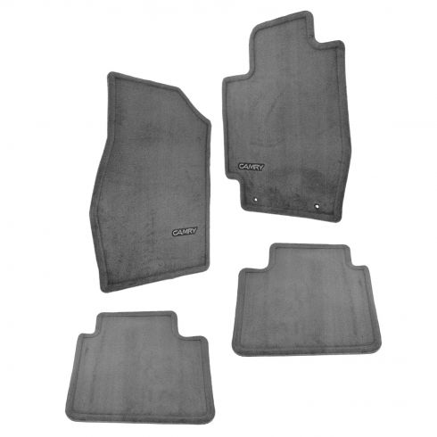 02-06 Toyota Camry Front & Rear Dark Gray Carpet Floor Mats (Set of 4) (Toyota)