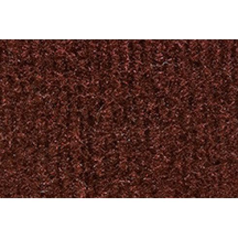Universal Pre-Nibbed Floormat 875-Claret/Oxblood Cutpile Front & Rear (Set of 4)