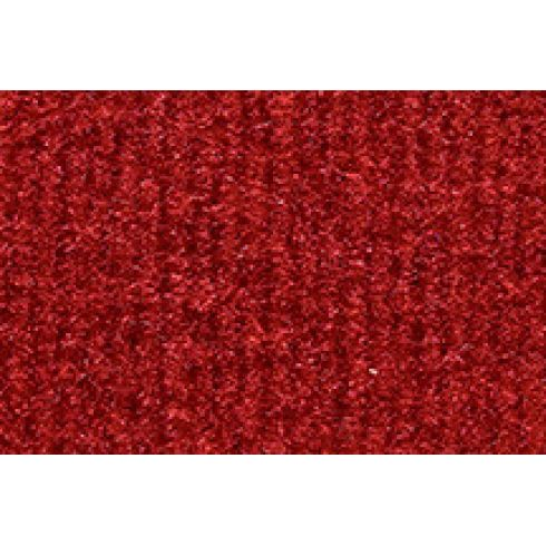 Universal Pre-Nibbed Floormat Kit 8801-Flame Red Cutpile Front & Rear (Set of 4)