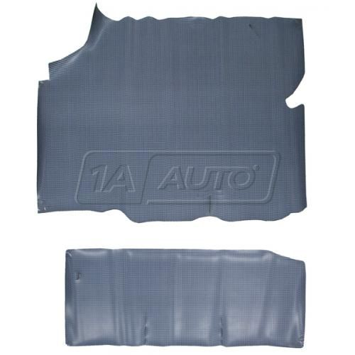 1968 Olds Cutlass Grey Houndstooth Rubber Trunk Mat