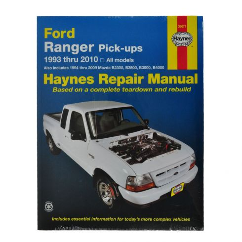 and Haynes Repair Manual