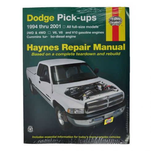 1994 01 dodge haynes repair manual 1amnl00007 at 1a. Black Bedroom Furniture Sets. Home Design Ideas