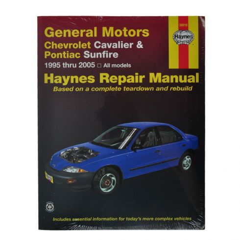 Chevy Pontiac Cavalier Sunfire Haynes Repair Manual