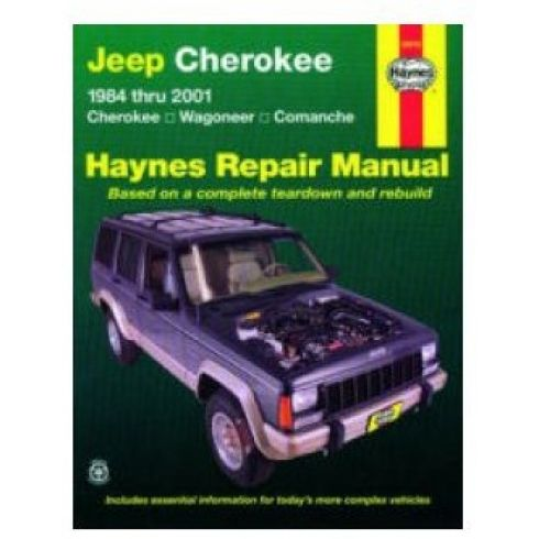1984-01 Jeep Cherokee Wagoneer Comanche Haynes Repair Manual
