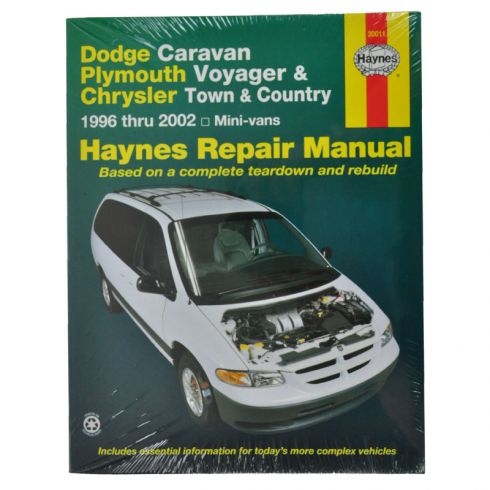 Dodge and Plymouth Caravan Voyager Haynes Repair Manual