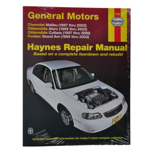 GM Malibu Alero Cutlass Grand Am Haynes Repair Manual