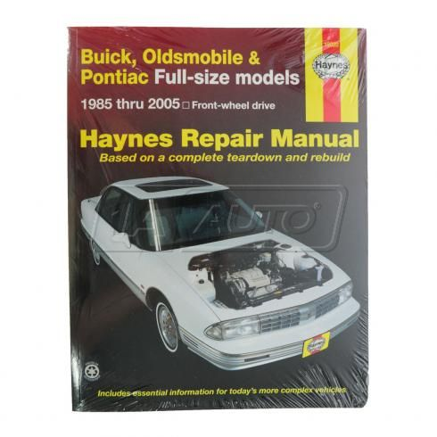 GM Full Size FWD Sedans Haynes Repair Manual