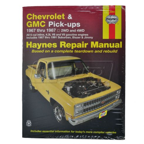 Chevy GMC Pickup Haynes Repair Manual