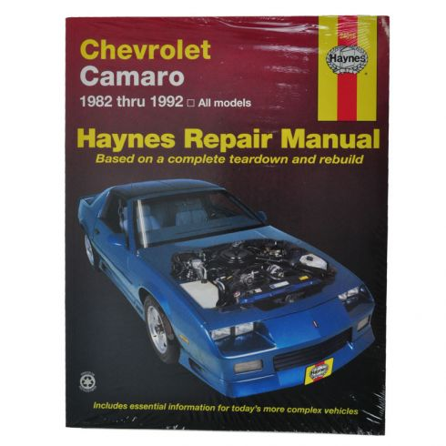Chevy Camaro Haynes Repair Manual