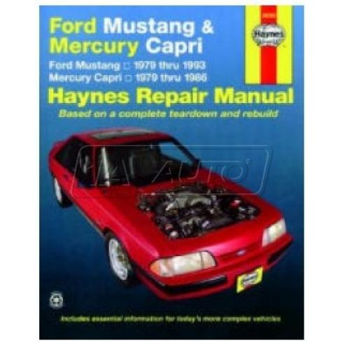 1979-93 Ford Mustang Mercury Capri Haynes Repair Manual