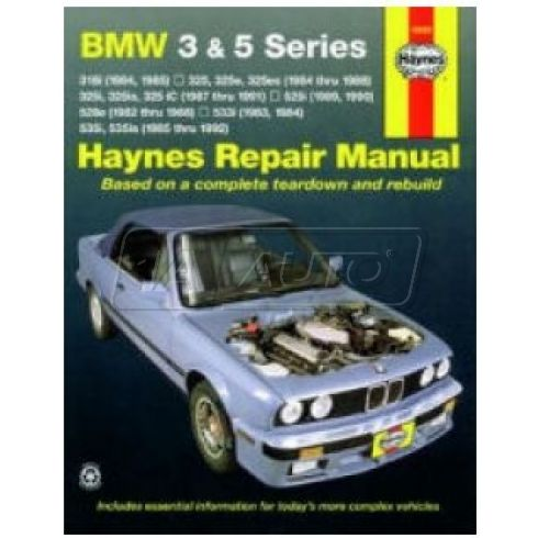 1982-92 BMW 3 and 5 Series Haynes Repair Manual