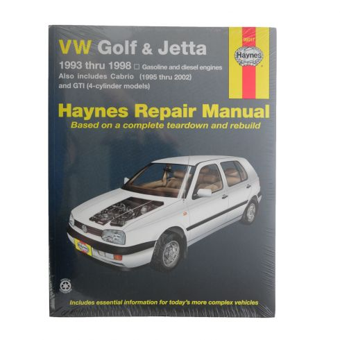 1993-98 VW Golf, GTI and Jetta Haynes Repair Manual