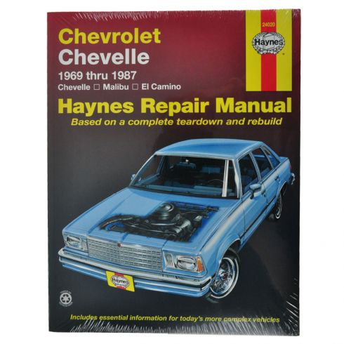 Chevy Chevelle Malibu and El Camino Hayes Repair Manual