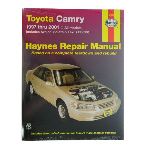 , Avalon, Solara, Lexus ES 300 Haynes Repair Manual
