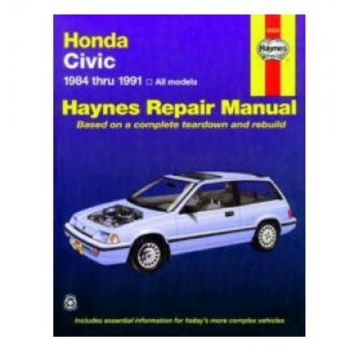 1984-90 Honda Civic Haynes Repair Manual