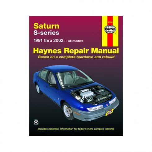 1991-02 Saturn S-Series Haynes Repair Manual