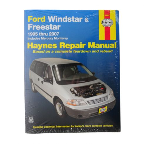 1995-03 Ford Windstar Haynes Repair Manual