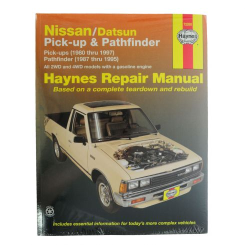 Datsun Nissan Pickup Pathfinder Haynes Repair Manual