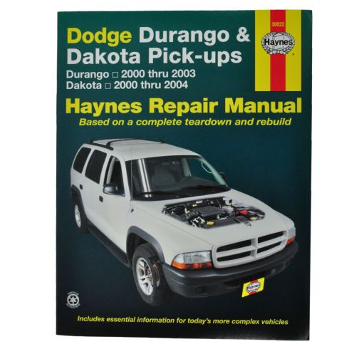 Dakota Haynes Repair Manual