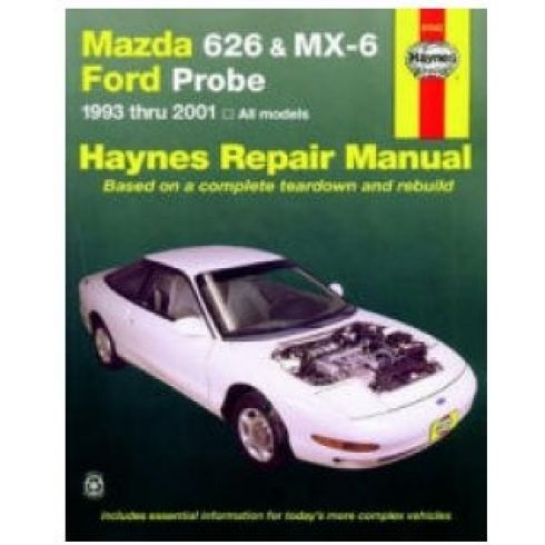 1993-01 Mazda 626 MX-6 Ford Probe Haynes Repair Manual