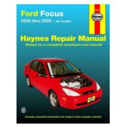 2000-05 Ford Focus Haynes Repair Manual