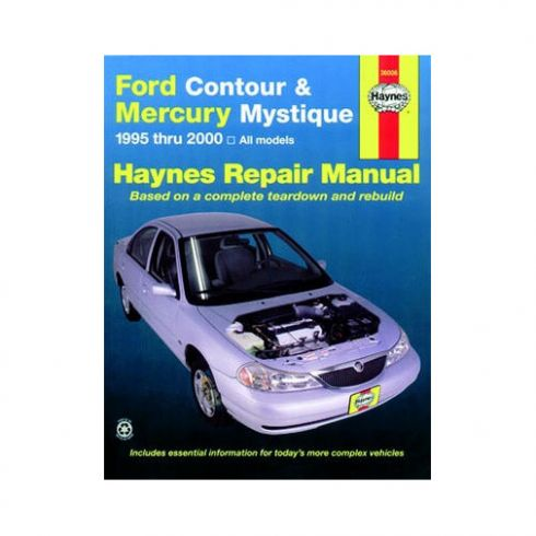 1995-00 Ford Contour Mercury Mystique Haynes Repair Manual