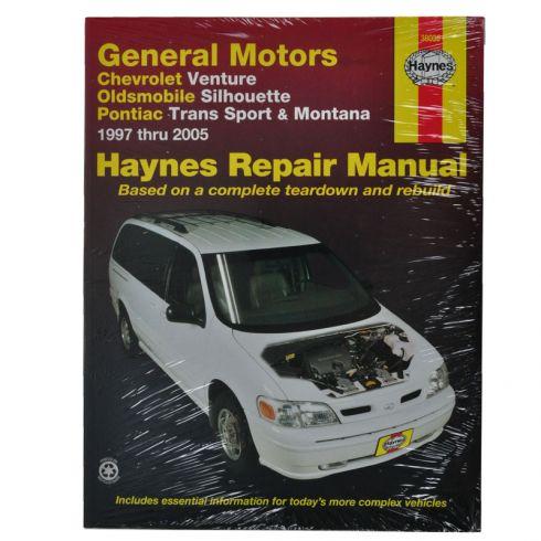 Venture Silhouette Trans Sport Montana Haynes Repair Manual