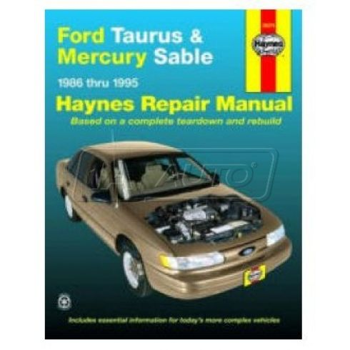 1986-95 Ford Taurus Mercury Sable Haynes Repair Manual