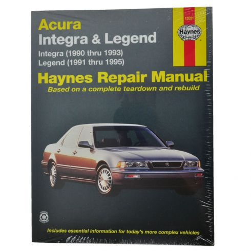 Integra Haynes Repair Manual