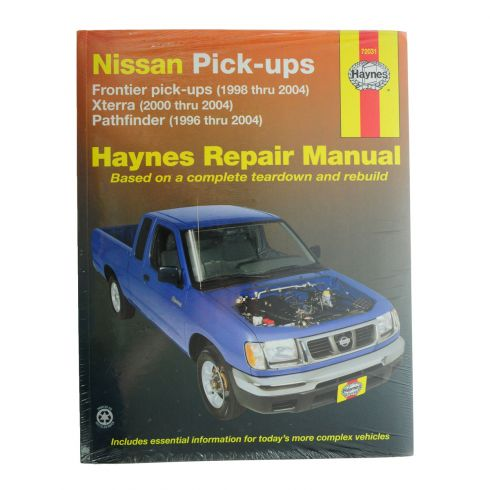1996-04 Frontier Pathfinder Xterra Haynes Repair Manual