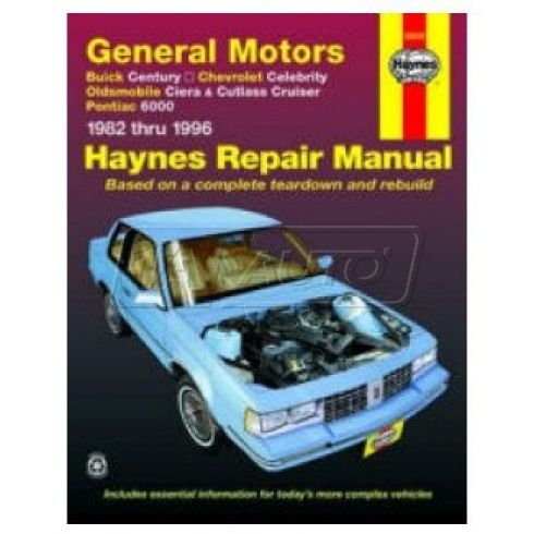 1982-96 Century Ciera Cutlass Cruiser Haynes Repair Manual
